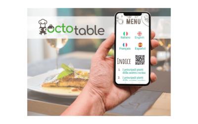 OCTOTABLE, MOTEUR DE RÉSERVATION et menu en ligne POUR  RESTAURANT