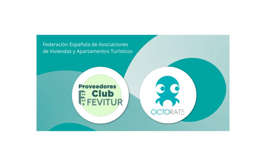 OCTORATE ES MIEMBRO DEL CLUB de PROVEEDORes DE FEVITUR