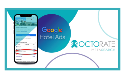 Link gratuiti da Google al Booking Engine con Metasearch di Octorate